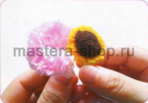 Мастер-класс по созданию цветов из капрона: Цветок герберы