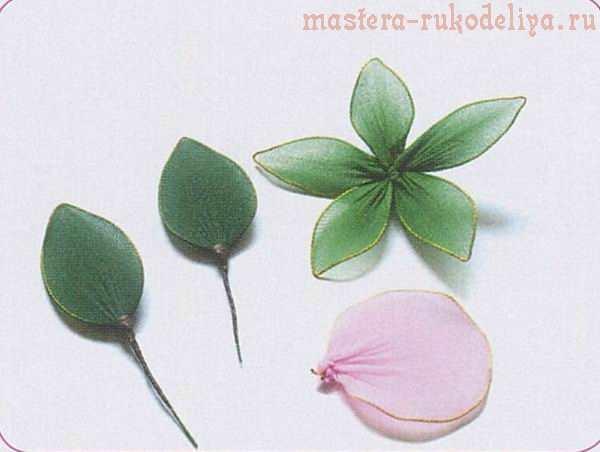 Мастер-класс по созданию цветов из капрона: Розы с бутонами