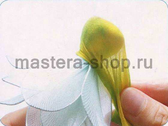 Мастер-класс по созданию цветов из капрона: Цветы лотоса