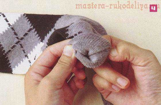 Мастер-класс по шитью игрушек из носков: Мартышка
