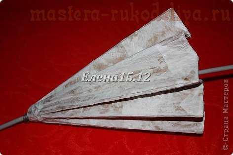 Мастер-класс: Античный зонтик