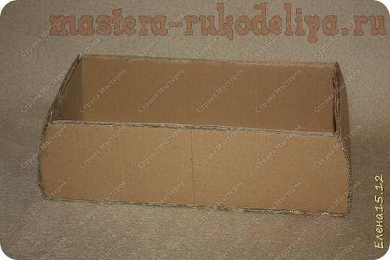 Мастер-класс по картонажу: Двухярусный ларец