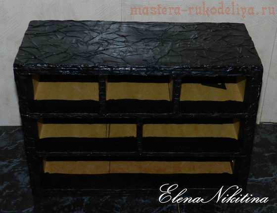 Мастер-класс по картонажу: Шкатулка для рукоделия