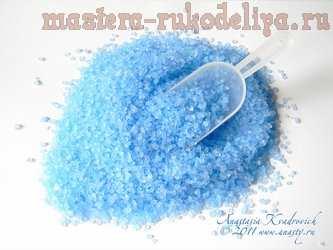 Мастер-класс по созданию косметики своими руками: Красим морскую соль