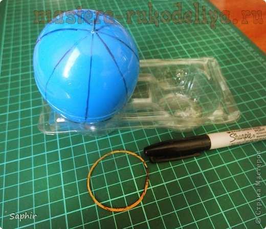 Мастер-класс по квиллингу: Ажурное яичко