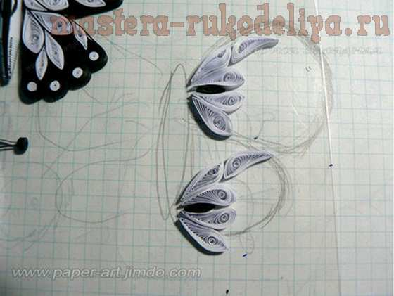 Мастер-класс по квиллингу: Бабочка; Махаон.