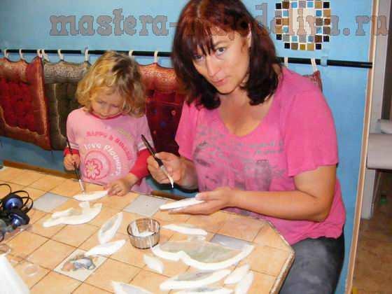 Мастер-класс по мозаике: Настенное панно Мозаичные хамелеоны