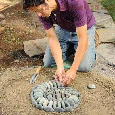 Мастер-класс: Мозаика из камня своими руками