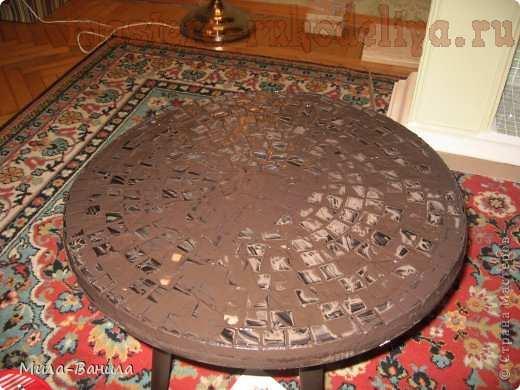 Мастер-класс по мозаике: Кофейный столик