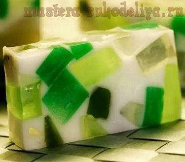 Видео мастер-класс по мыловарению: Мыло-конфетти