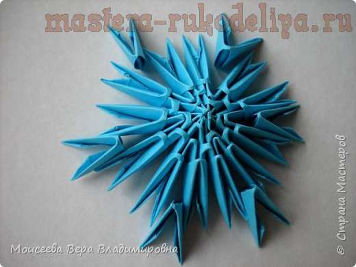 Мастер-класс по модульному оригами: Балерина