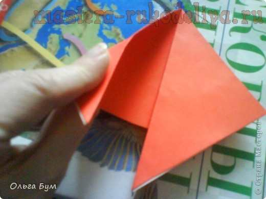 Мастер-класс по оригами: Бьющееся сердце