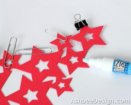 Как вырезать елку из бумаги по схеме