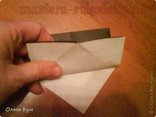 Мастер-класс по оригами: Киски