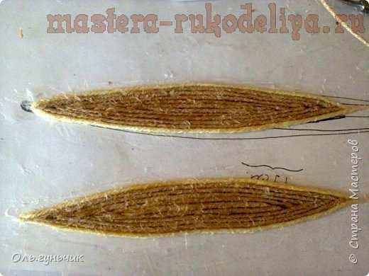 Мастер-класс по филиграни из джута: Ажурная шкатулка