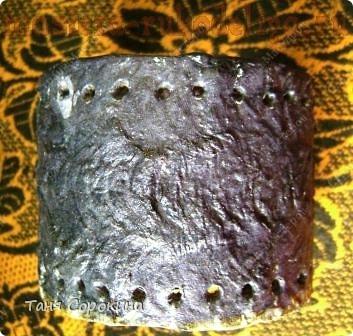 Мастер-класс по пейп-арту: Кожаный браслет