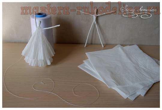 Мастер-класс: Бумажные балерины