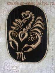 Мастер-класс по филиграни из джута: Филигранный Скорпион