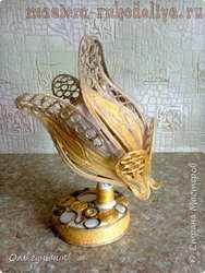 Мастер-класс по филиграни из джута: Филигранный светильник