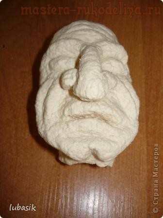 Мастер-класс по папье-маше: Баба Яга