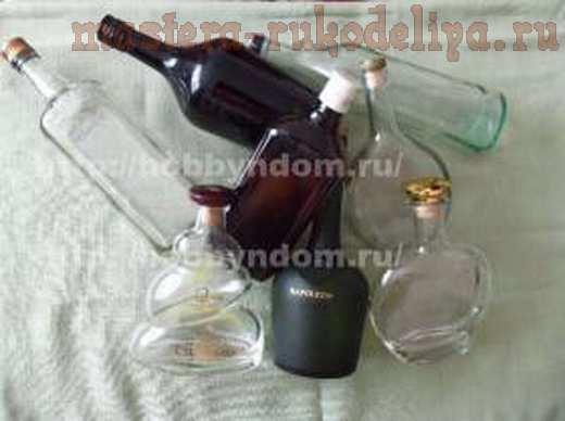 Мастер-класс по папье-маше: Бутылка; Сокровище дракона.