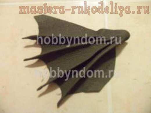 Мастер-класс по папье-маше: Дракон - держатель визиток