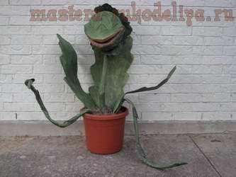 Мастер-класс: Хищное растение