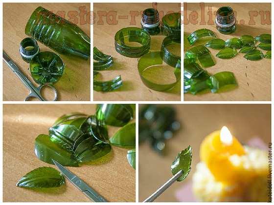 Мастер-класс по поделкам из пластиковых бутылок: Колье из пластиковой бутылки