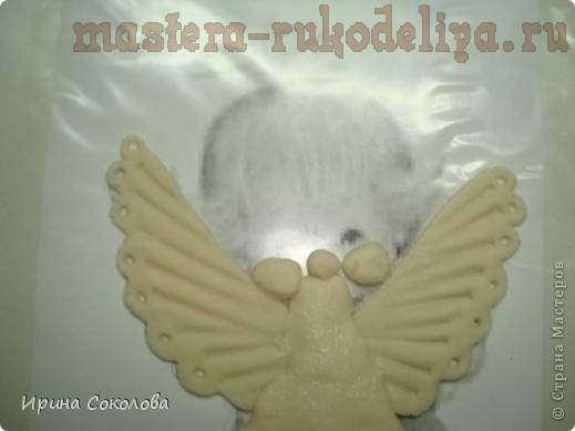 Мастер-класс: Ангелочек с овечкой