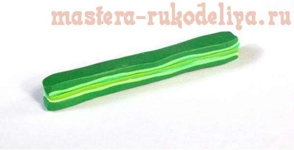 Мастер-класс: Арбузики из полимерной глины