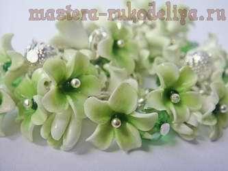 Мастер-класс по лепке из полимерной глины: Бусины-цветы