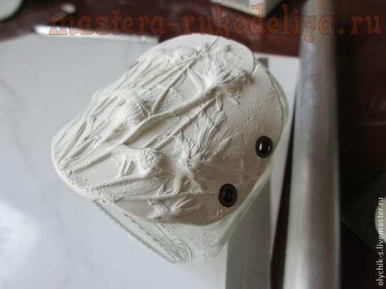 Мастер-класс по лепке из полимерной глины: Бусины с растительным орнаментом