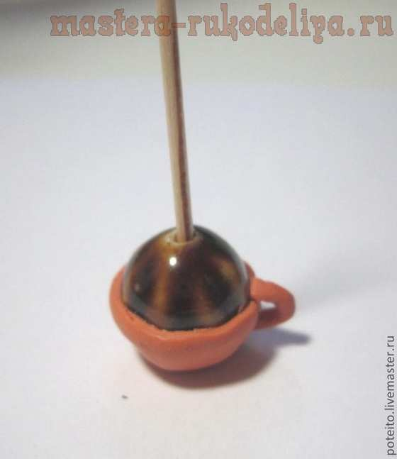 Мастер-класс по лепке из полимерной глины: Чашка и блюдце