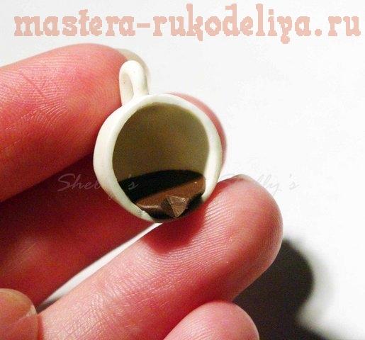 Мастер-класс по лепке из полимерной глины: Серьги Чашки
