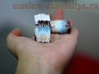 Мастер-класс по лепке из полимерной глины: Частый шеврон с переходом цвета