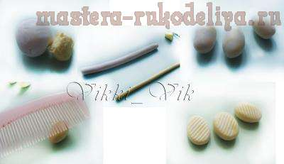 Мастер-класс: Делаем конфетки из полимерной глины