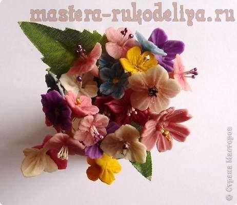 Мастер-класс: Делаем тычинки для цветов из бумаги или холодного фарфора
