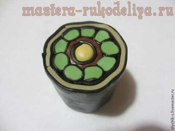 Мастер-класс по лепке из полимерной глины: Этнические бусы