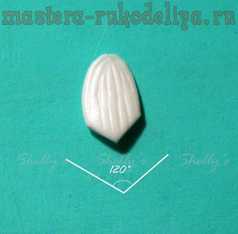 Мастер-класс по лепке из полимерной глины: Орхидея Фаленопсис