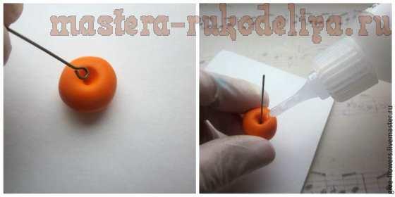 Мастер-класс по лепке из полимерной глины: Физалис