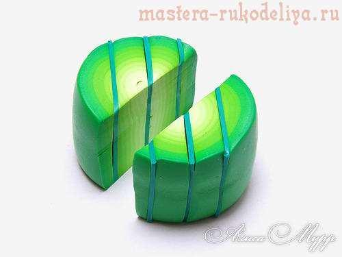 Мастер-класс по лепке из полимерной глины: Листики