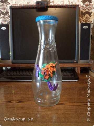 Мастер-класс по лепке из полимерной глины: Как быстро сделать вазу для живых цветов