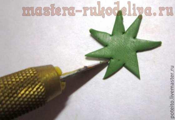 Мастер-класс по лепке из полимерной глины: Клубника