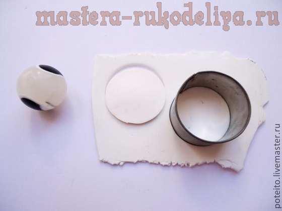 Мастер-класс по лепке из полимерной глины: Кокос