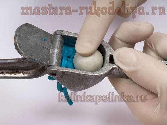 Мастер класс: Кольцо с цветком из полимерной глины