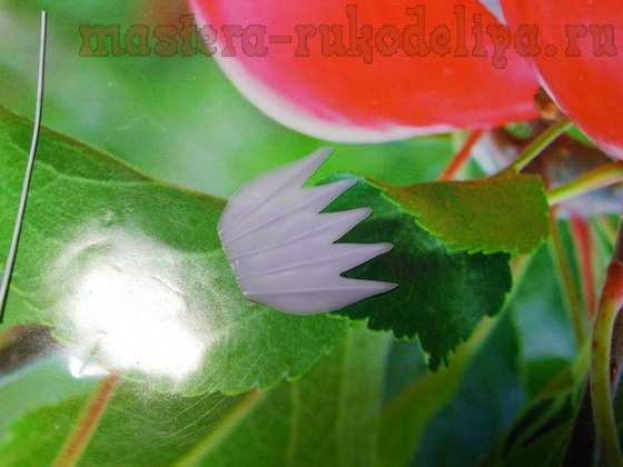 Мастер-класс по керамической флористике: Колокольчик полевой