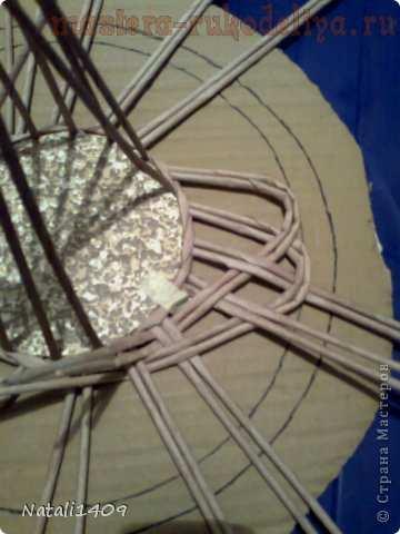Мастер-класс по плетению: Ажурная конфетница