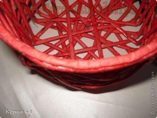 Мастер-класс по плетению из газет: Ажурная шкатулка