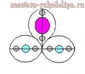 Схема фриволите, анкарс: Свадебное колье и серьги Девичьи мечты