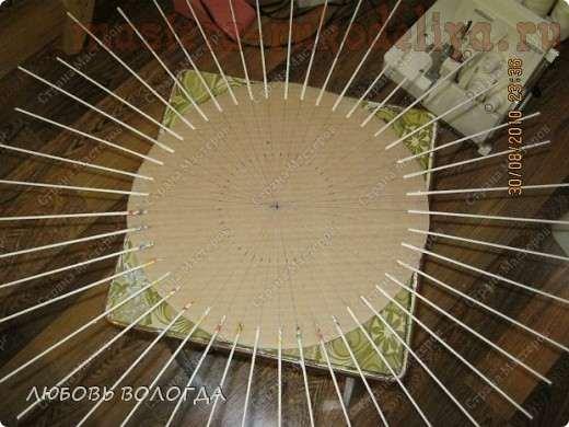 Мастер-класс: Как сделать дно для круглого подноса